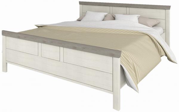 NABBI Orentano 160 manželská posteľ s roštom pino aurelio / madagascar / nelson