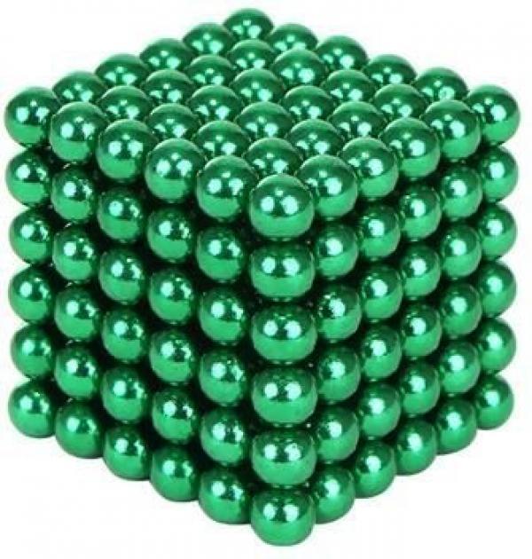 Neocube zelené 216 x 3mm v darčekovej krabičke Isotra