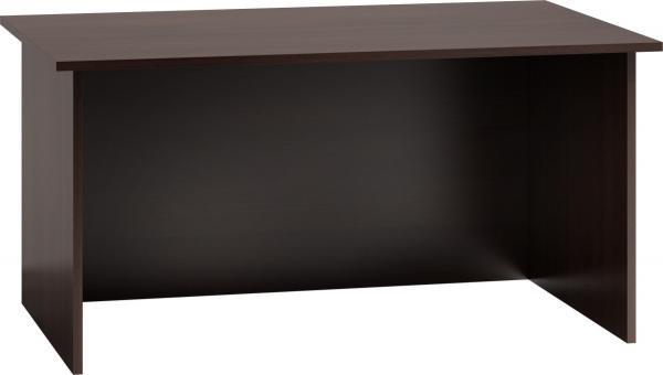 Písací stôl STANDARD tmavohnedý