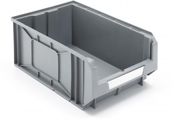 Plastové boxy Apart, Š 300 x H 485 x V 190 mm, 12 ks, šedé