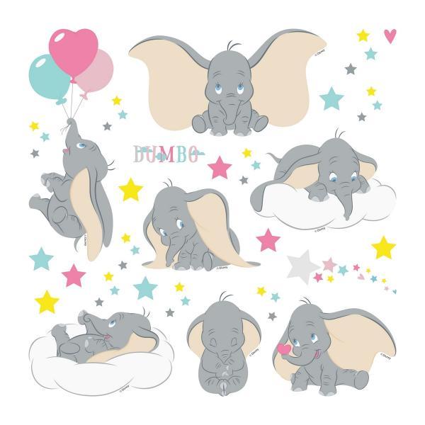 Samolepiaca dekorácia Dumbo, 30 x 30 cm
