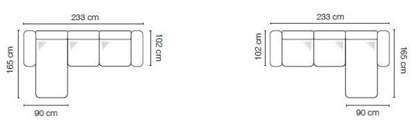 Stagra Rohová sedacia súprava Sidolo Prevedenie: Pravé prevedenie - 2BL+OBP