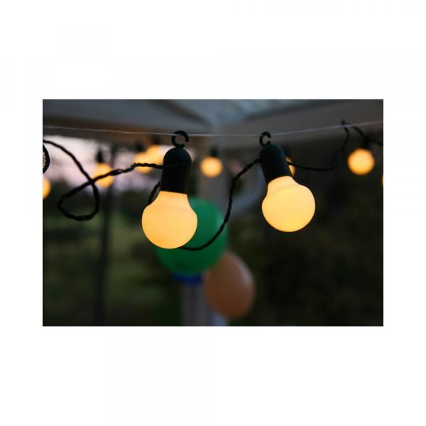 Svetelná LED reťaz vhodná do exteriéru Star Trading Party, 20 svetielok