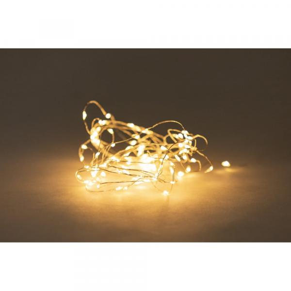 Svetelná reťaz na batérie s LED žiarovkami Luuk, 60 svetielok