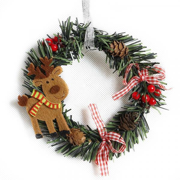 Vianočný veniec - 4 varianty Varianta: 1