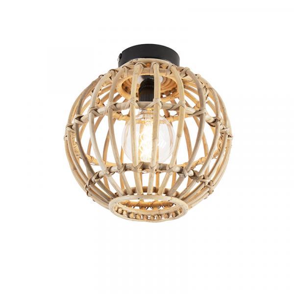 Vidiecke stropné svietidlo bambusové 30 cm - Canna