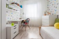 Malá detská izba ladená do svetlých tónov