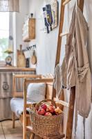 Malá kuchyňa vo vidieckom štýle
