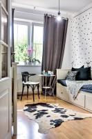 Dievčenská detská izba v škandinávskom štýle