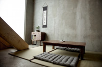 Tradičný japonský interiér