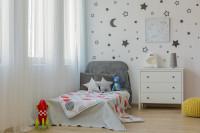 Detská posteľ so záhlavím
