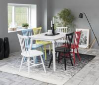 Farebná kombinácia nábytku do jedálne