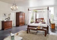 Veľká spálňa v koloniálnom štýle