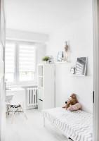 Detská izba v bielej farbe