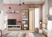 Nábytok do spálne či obývacej izby v bledých odtieňoch