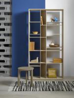 Masívna dubová knižnica od firmy Javorina