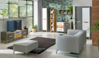 Nábytok do obývacej izby v škandinávskom štýle