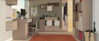 Moderná študentská izba v odtieňoch béžovej
