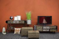 Nábytok do obývačky vo vintage štýle
