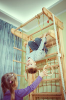 Rebrinová zostava v detskej izbe