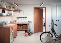 Jednoduché interiérové dvere do práčovne