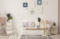 Romantická provensálska obývačka