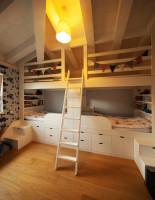 Spacia zóna v detskej izbe pre dvoch