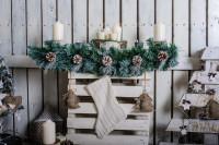Vianočné dekorácie z prírodných materiálov