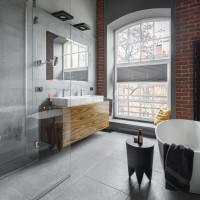 Dizajnový nábytok v modernej kúpeľni