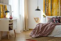 Svetlá spálňa v romantickom štýle