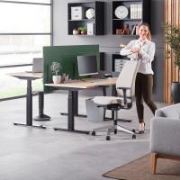 Moderný jednoduchý nábytok do kancelárie