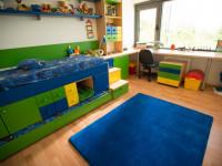 Praktická detská izba s množstvom úložného priestoru
