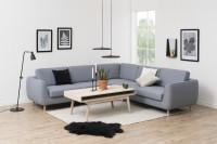 Moderná čiernobiela obývacia izba