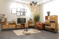 Retro zostava nábytku do obývacej izby