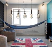 Netradičná študentská izba v kombinácii moderného, industriálneho a vintage štýlu