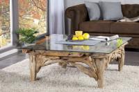 Obývačka s kombináciou nábytku moderného a vintage štýlu