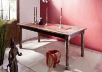 Masívny vintage jedálenský stôl