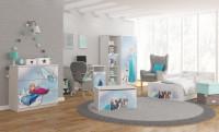 Moderná detská izba s Frozen motívom