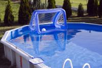 Bazén s nafukovacou bránkou