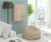 Obývacia izba vybavená nábytkom v svetlých tónoch