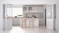 Biela kuchyňa v škandinávskom štýle