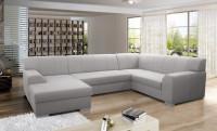 Veľká obývačka s rohovou sedačkou