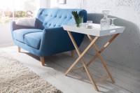 Minimalistický servírovací stolík do obývačky