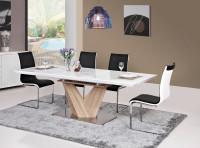 Lakovaný rozkladací jedálenský stôl