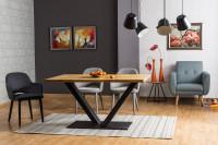 Jedálenský stôl s neobvyklým dizajnom