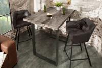 Menšia jedálenská súprava nábytku v industriálnom štýle