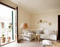 Vintage obývačka v kombinácii s minimalistickým štýlom