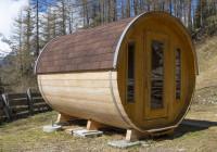 Sudová sauna v horách