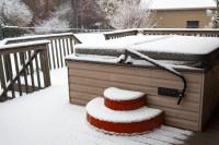 Domáca vírivka v zime