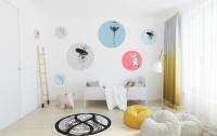 Samolepky na stenu Farebné kruhy